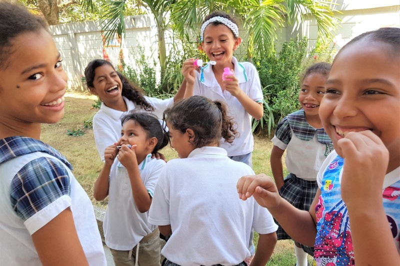 community project in Colombia