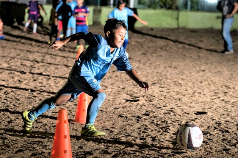 voetbal project Colombia